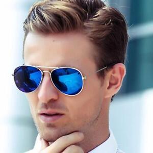 cad7371049 Image is loading Pilot-Aviator-Sunglasses-Women-Men-Frame-Glasses-Shades-