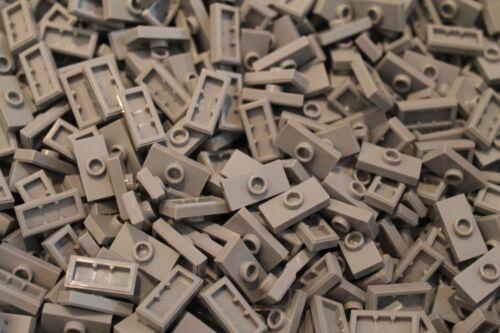 in Neu Hellgrau LBG NEU 200 x LEGO® Plate Jumper Platten 1 Noppe 1x2 15573