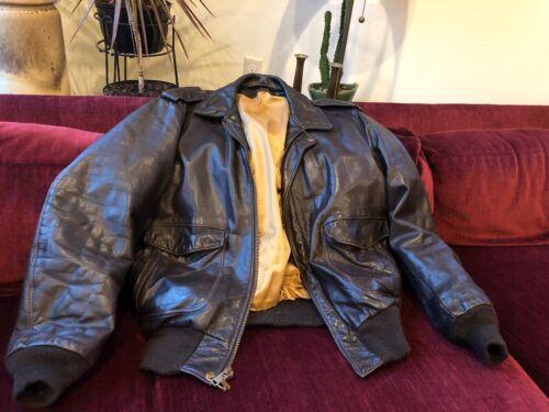 Vtg schott Bomber Flight Motorcycle Biker leather