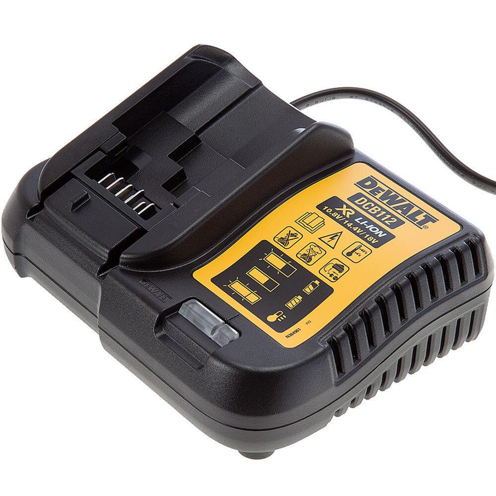 Dewalt Charger DCB112 10.8V 14.4V 18V Li-ion Battery Supports 220V _ar