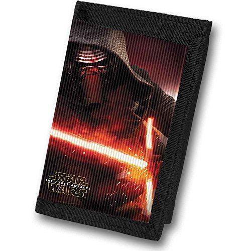 2019 Moda Star Wars Episodio Sette Kylo Ren Lenticolare Wallet Distintivo Per Le Sue Proprietà Tradizionali