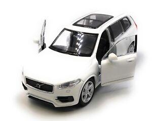 Voiture-miniature-VOLVO-xc90-SUV-Blanc-Auto-1-34-39-LGPL
