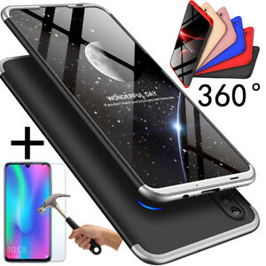 official photos 0c78b 942ce Details about Huawei P smart 2019 New Best 360° Full Matte Cover Bumper  Case + Tempered Glass