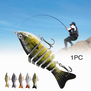 Minnow-Fishing-Lures-Crank-Bait-Hooks-Bass-Crankbaits-Tackle-Sinking-Popper-MT