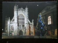 POSTCARD B29-1 SOMERSET BATH ABBEY