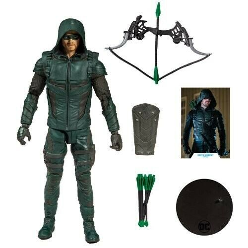 DC Comics Wave 1 Green Arrow TV Series 7-Inch Action Figure Mcfarlane Toys