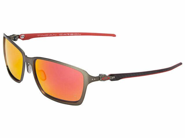 Oakley Ferrari Sunglasses Tincan Carbon Iridium Lens 58 Mm For Sale Online Ebay