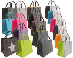 Filztasche Einkaufstasche Tasche Filz Shopper 35 x 20 x 28 cm viele Farben