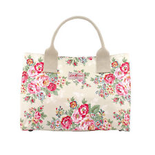 CATH KIDSTON CANDY FLOWERS FLORAL COTTON CANVAS OILCLOTH LARGE TOTE BAG £55!