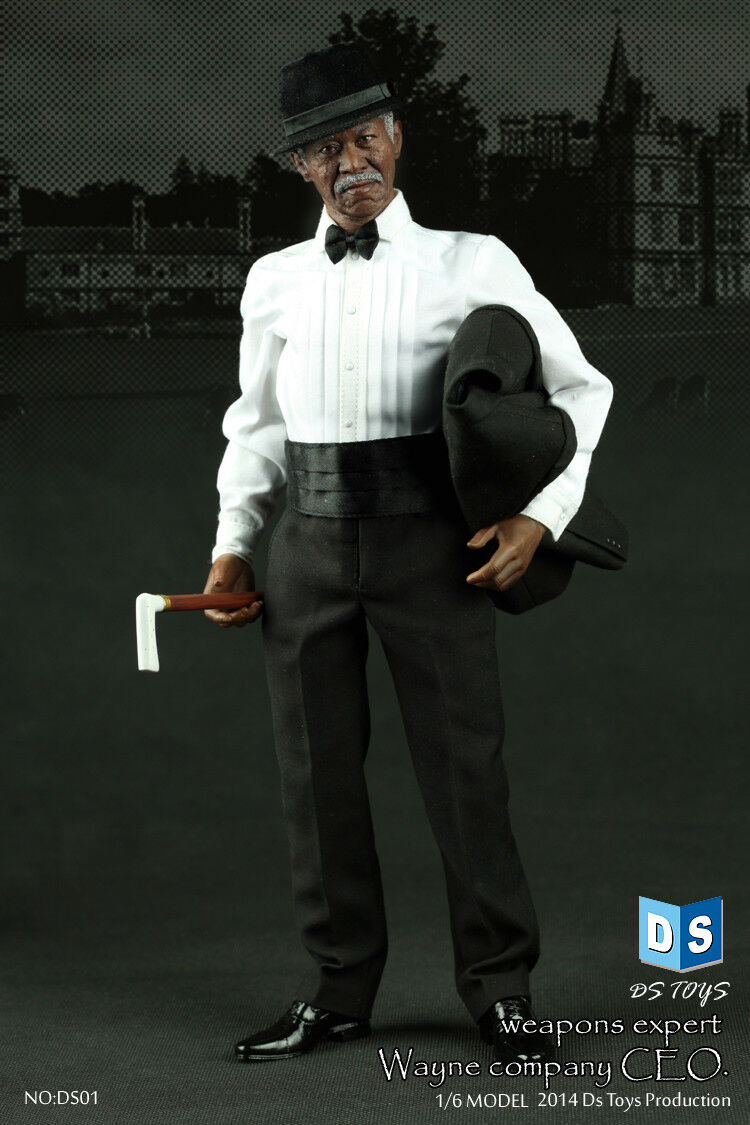 1 6 DS Toys CEO Weapons Expert Wayne Company Action Figure Boxed Set  DS-001