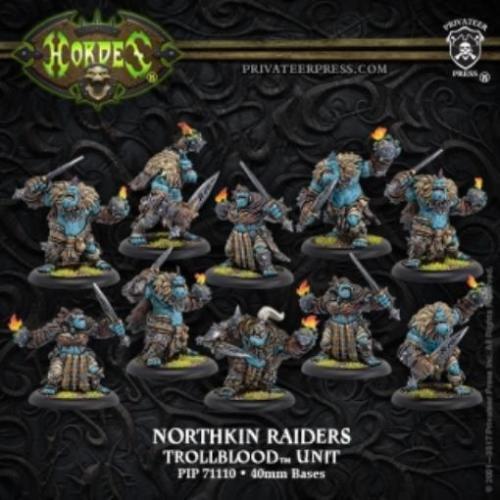 Hordas trollbloods northkin Raiders Unidad & Accesorio PIP71110