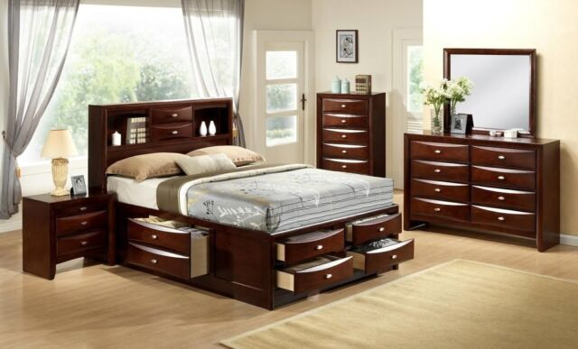 Ashley Furniture B671 Greensburg Black Queen Or King Panel Bed