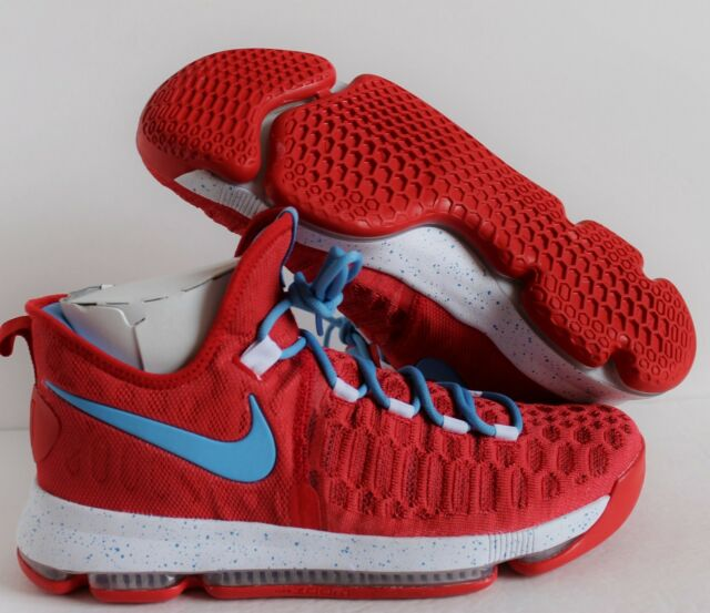 newest 77552 f956c Nike KD 9 IX iD Kevin Durant Red-White-Blue SZ 12  863695