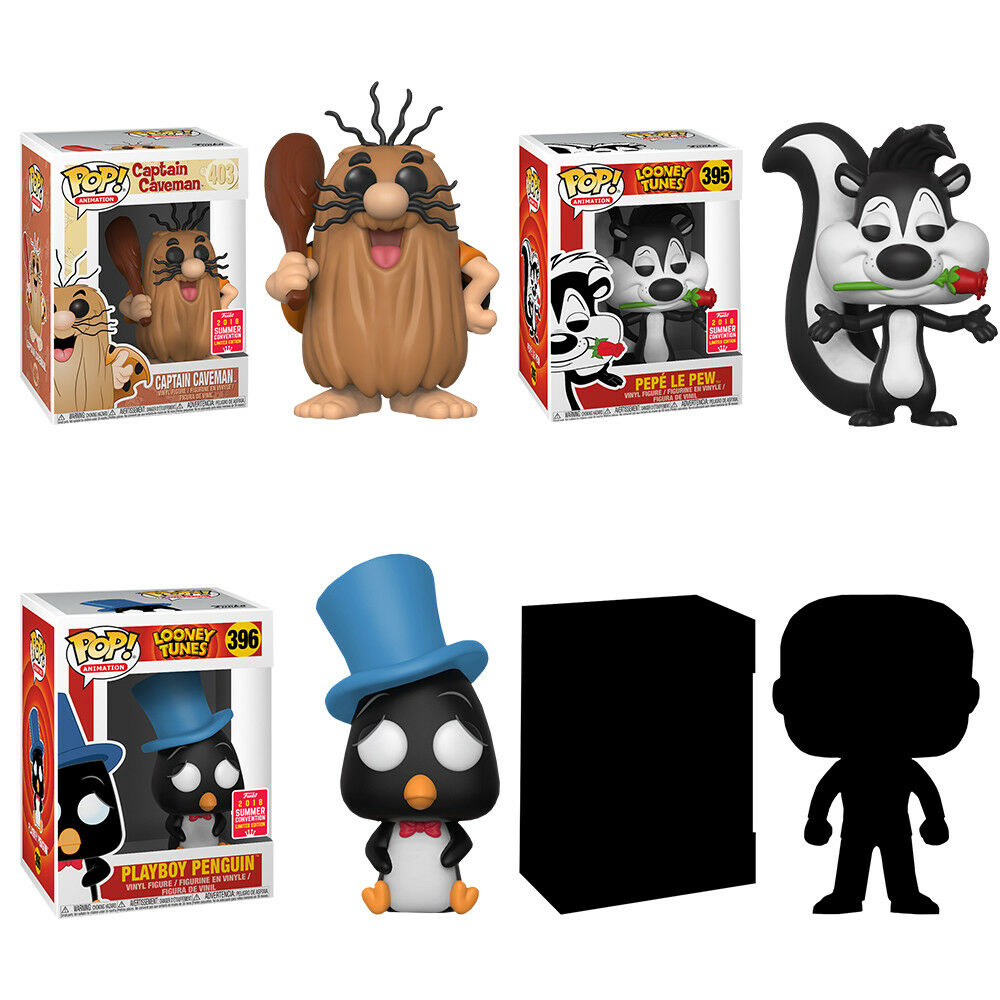 Cartoons - Funko 2018 SDCC Exclusive Pop  Vinyl Figure Bundle (Set of 4)