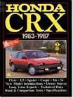 Honda CRX, 1983-87 by Brooklands Books Ltd (Paperback, 1988)