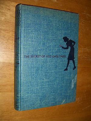 Carolyn Keene Nancy Drew Mystery Stories The Secret Of Red Gate Farm # 6 1931