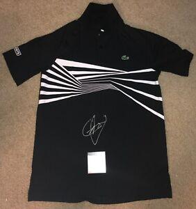 Novak Djokovic Signed Lacoste Shirt Polo Tennis Australian Open 2020 Us Psa A Ebay