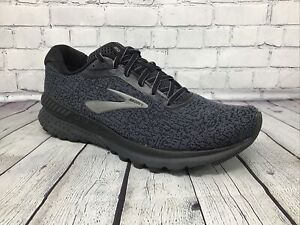 Brooks-Adrenaline-GTS-20-Men-039-s-Running-Shoes-Shoes-Size-9-M-D-Blue-Black-NWOB