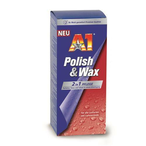 A1 Polish & Wax 500ml Dr. Wack