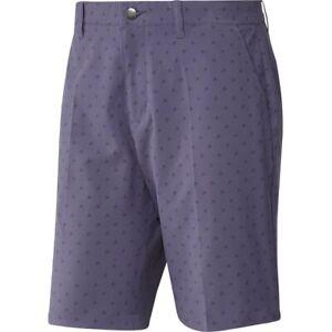Adidas-Golf-Shorts-Ultimate-365-Badge-of-Sport-32-034-FL5565-Tech-Purple