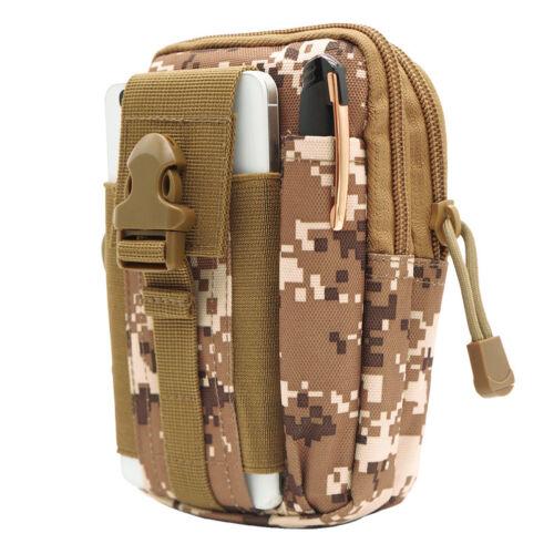 Tactical Military Mens Waterproof Thigh Drop Leg Bag Fanny Pack Waist Belt Pouch
