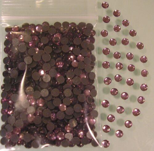 Hotfix Glas Strasssteine ss16 4mm Farbwahl 250 Stück A Qualität zum Aufbügeln