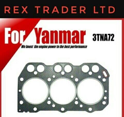 Yanmar 3T72, 3TN72, 3TNA72UJ, John Deere F935, 72mm bore 3 Cyl head gasket