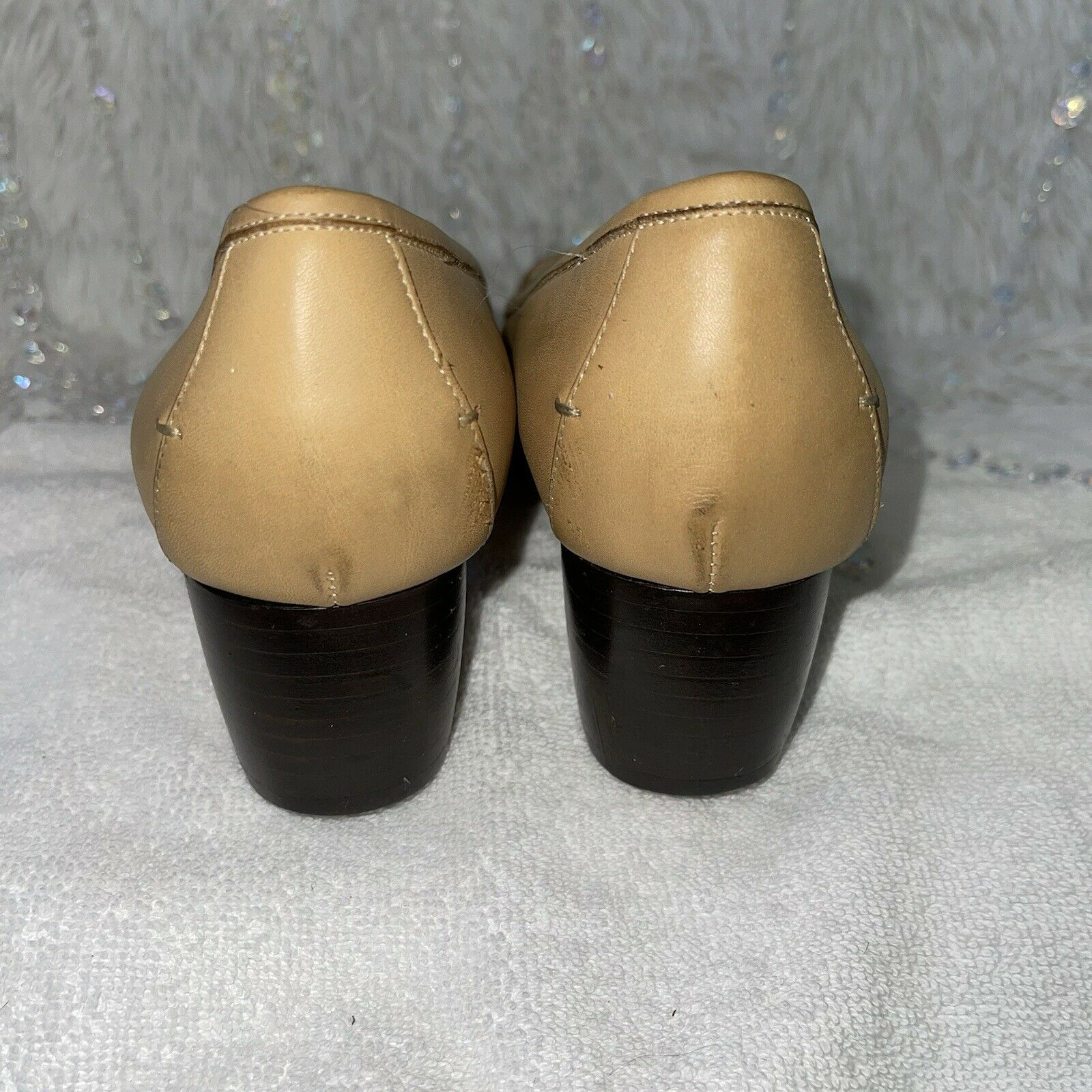 Cole Haan Country Leather Loafers Womens 8AA Tan … - image 5