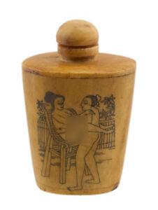 Bottiglia Bottiglietta Boccetta Arte Shunga Erotico Giapponese Curiosa- 871 K 57