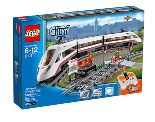 nouveau Sealed Rare Lego 60051 High-speed Passenger Train   populaire