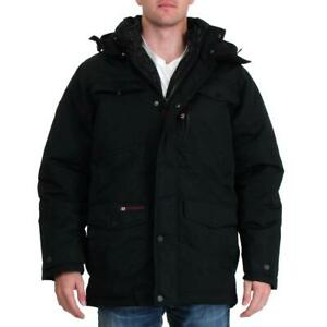 Canada-Weather-Gear-Systems-Men-039-s-Waterproof-Warm-Winter-Bib-Parka-Coat