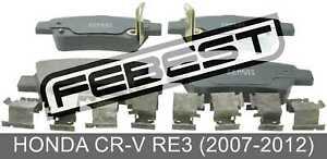 Pad-Kit-Disc-Brake-Rear-Kit-For-Honda-Cr-V-Re3-2007-2012