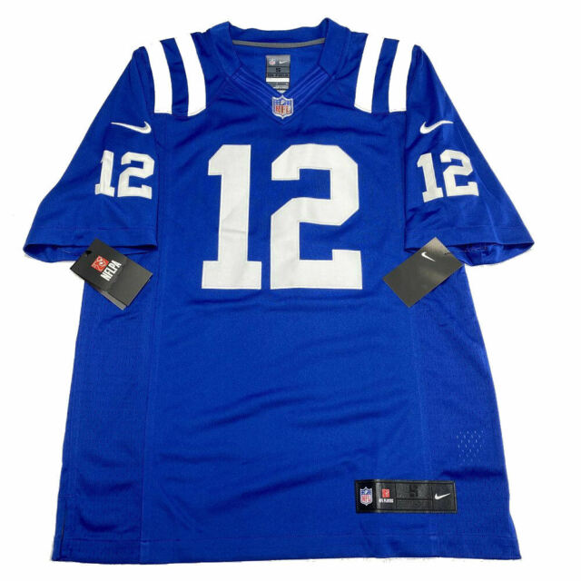 Nike Indianapolis Colts Andrew Luck Limited Jersey L Sewn on Field NFL Blue