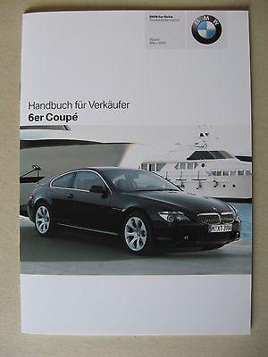 Venditore Manuale Bmw 6er Coupe E63 630i 645 Ci Modelli M6 2005-