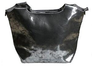 Damen Schultertasche hxbxt Mischmasch Cityshopper 35x50x18 Juene silber schwarz CfPvPqw