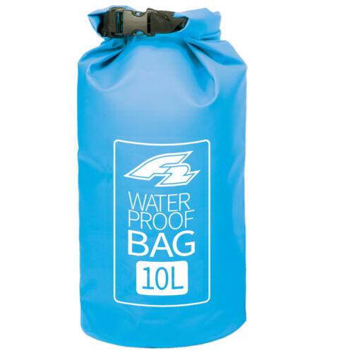 WATERPROOF WASSERFESTER SACK F2 LAGOON DRY BAG BLUE 10 LITER 20 x 56 CM