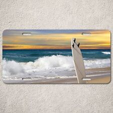 LP0028 Car License Plate Tropica Beach Surfing Vacation Room Decor Gift Sign