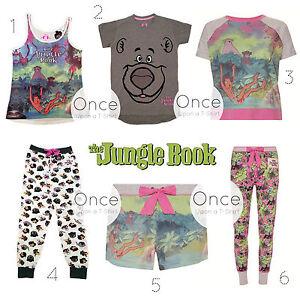 67473803c0 Primark Mujer Disney el Libro de la Selva Personajes Pijamas Piezas ...