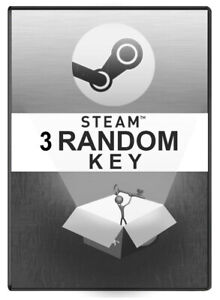 3-Random-PREMIUM-STEAM-KEY-NO-TRASH