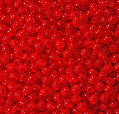 Hyacinth 6mm Round Beads 500pc USA for crafts fishing jewelry