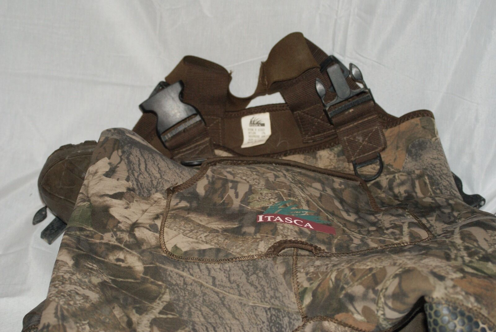 ITASCA RUBBER WADING Stiefel AND OVERRALLS Größe 1 Thinsulate ITEM ITEM ITEM 632025 JUNIOR a64b73