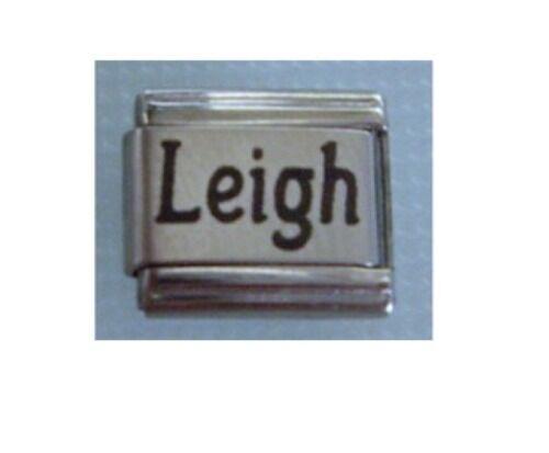 Names Name Leigh Italian Charms Charm