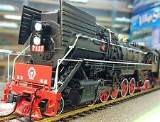 China Railway / Eisenbahn QJ Steam Locomotive #7127 High-Eared version HO 1:87 D