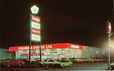 Photo. 1969-70. New Westminster, Canada. Columbia Dodge Ltd Auto Dealership
