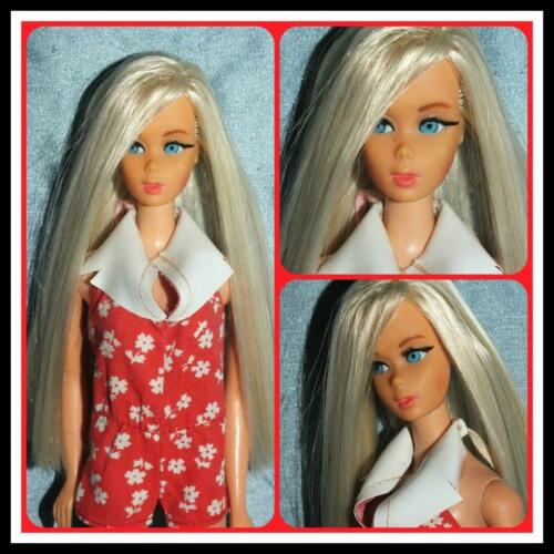 VTG BARBIE DOLL RESTORATION OOAK SERVICES FACE EYEBROW LIPS REPAINT PONYTAIL