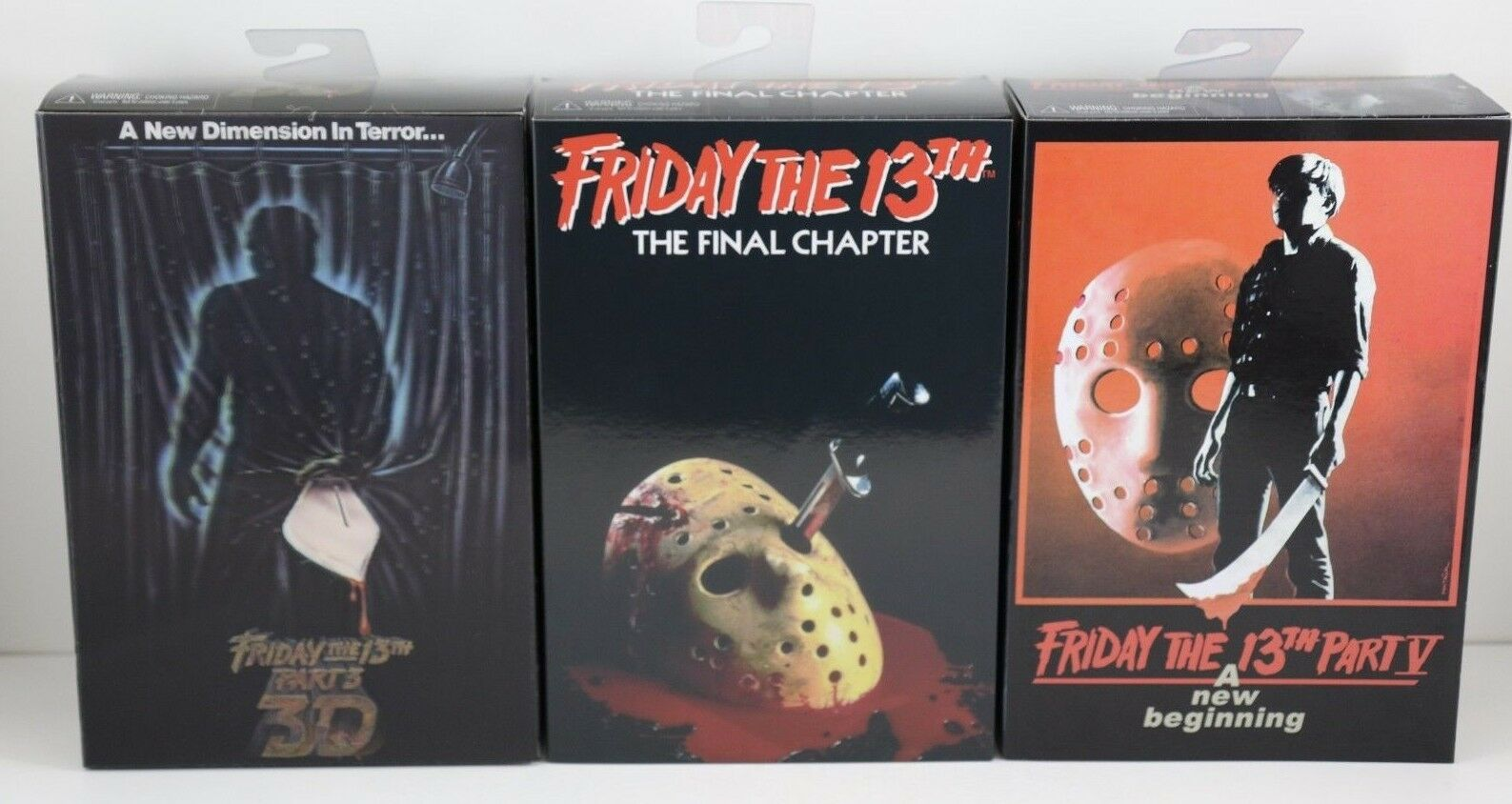 NECA Friday the 13th Part 3, 4, & 5 Ultimate Jason Voorhees 7