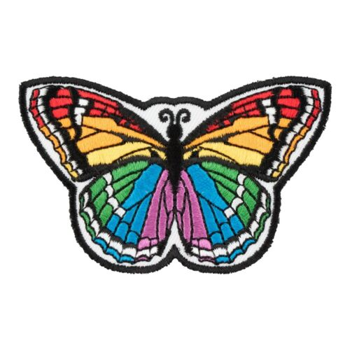 Rainbow Monarch Butterfly Patch Butterfly Patches