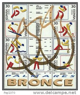 Spain Edifil # 3420/3426 ** MNH  Olimpicos de Bronce