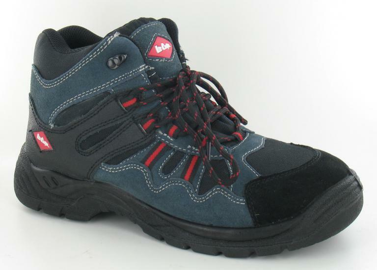 LEE COOPER SUEDE LEATHER LACE UP STEEL TOE CAP  ROUND TOE SAFETY BOOTS