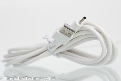 2m USB White Cable for Motorola MBP160 MBP160PU Parent/'s Unit Baby Monitor